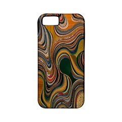 Swirl Colour Design Color Texture Apple Iphone 5 Classic Hardshell Case (pc+silicone)