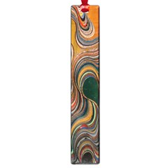 Swirl Colour Design Color Texture Large Book Marks