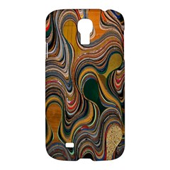 Swirl Colour Design Color Texture Samsung Galaxy S4 I9500/I9505 Hardshell Case