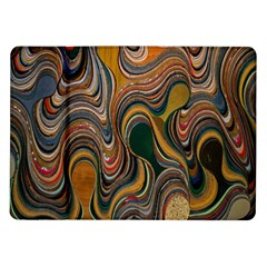 Swirl Colour Design Color Texture Samsung Galaxy Tab 10.1  P7500 Flip Case