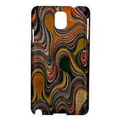 Swirl Colour Design Color Texture Samsung Galaxy Note 3 N9005 Hardshell Case