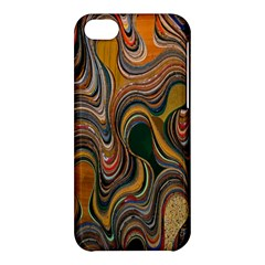 Swirl Colour Design Color Texture Apple Iphone 5c Hardshell Case