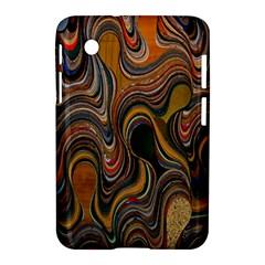 Swirl Colour Design Color Texture Samsung Galaxy Tab 2 (7 ) P3100 Hardshell Case