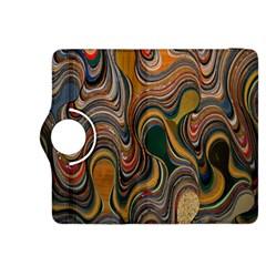 Swirl Colour Design Color Texture Kindle Fire HDX 8.9  Flip 360 Case