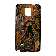 Swirl Colour Design Color Texture Samsung Galaxy Note 4 Hardshell Case