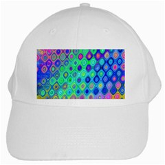 Background Texture Pattern Colorful White Cap