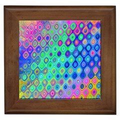Background Texture Pattern Colorful Framed Tiles