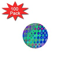 Background Texture Pattern Colorful 1  Mini Buttons (100 pack)