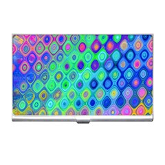 Background Texture Pattern Colorful Business Card Holders