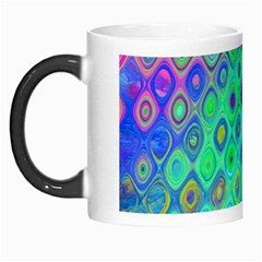 Background Texture Pattern Colorful Morph Mugs