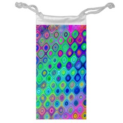 Background Texture Pattern Colorful Jewelry Bag