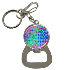 Background Texture Pattern Colorful Button Necklaces