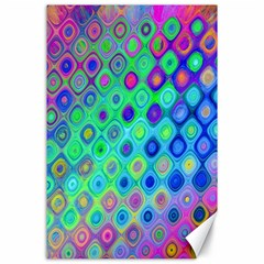 Background Texture Pattern Colorful Canvas 24  X 36