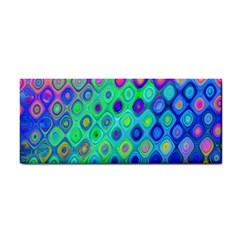 Background Texture Pattern Colorful Cosmetic Storage Cases