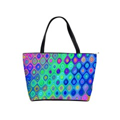 Background Texture Pattern Colorful Shoulder Handbags