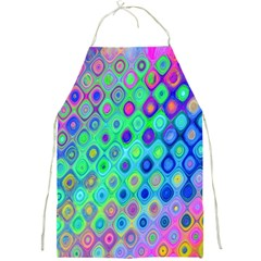 Background Texture Pattern Colorful Full Print Aprons