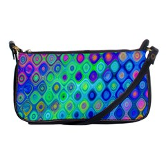 Background Texture Pattern Colorful Shoulder Clutch Bags