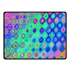Background Texture Pattern Colorful Fleece Blanket (Small)
