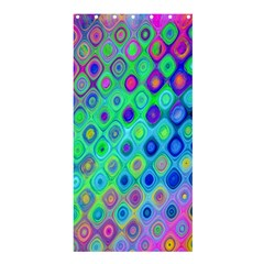 Background Texture Pattern Colorful Shower Curtain 36  x 72  (Stall)