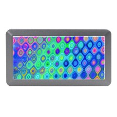 Background Texture Pattern Colorful Memory Card Reader (Mini)