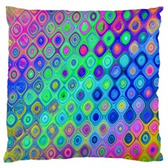 Background Texture Pattern Colorful Large Cushion Case (One Side)