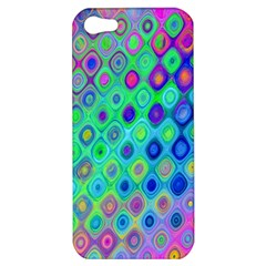 Background Texture Pattern Colorful Apple iPhone 5 Hardshell Case