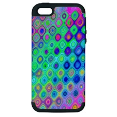 Background Texture Pattern Colorful Apple iPhone 5 Hardshell Case (PC+Silicone)