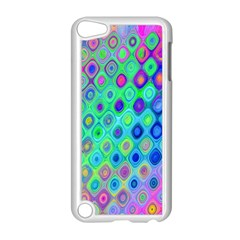 Background Texture Pattern Colorful Apple iPod Touch 5 Case (White)