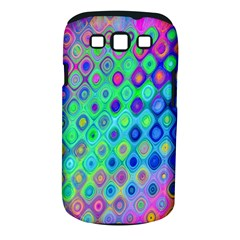 Background Texture Pattern Colorful Samsung Galaxy S III Classic Hardshell Case (PC+Silicone)
