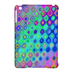 Background Texture Pattern Colorful Apple iPad Mini Hardshell Case (Compatible with Smart Cover)