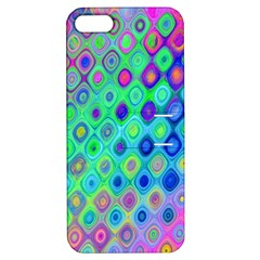Background Texture Pattern Colorful Apple Iphone 5 Hardshell Case With Stand
