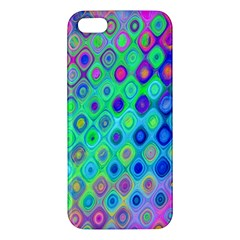 Background Texture Pattern Colorful Apple iPhone 5 Premium Hardshell Case