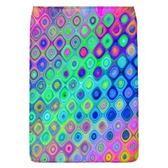 Background Texture Pattern Colorful Flap Covers (L)