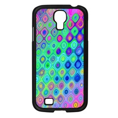 Background Texture Pattern Colorful Samsung Galaxy S4 I9500/ I9505 Case (Black)