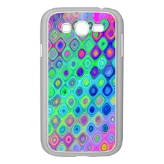 Background Texture Pattern Colorful Samsung Galaxy Grand DUOS I9082 Case (White)
