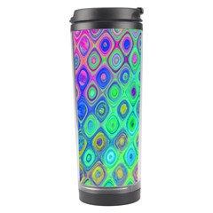 Background Texture Pattern Colorful Travel Tumbler