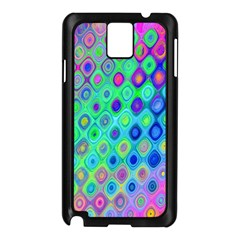 Background Texture Pattern Colorful Samsung Galaxy Note 3 N9005 Case (Black)