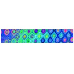 Background Texture Pattern Colorful Flano Scarf (large)