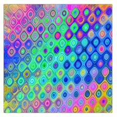 Background Texture Pattern Colorful Large Satin Scarf (square)