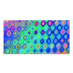 Background Texture Pattern Colorful Satin Shawl