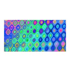 Background Texture Pattern Colorful Satin Wrap