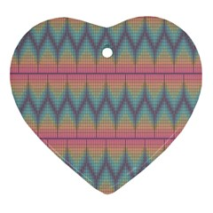 Pattern Background Texture Colorful Ornament (heart)