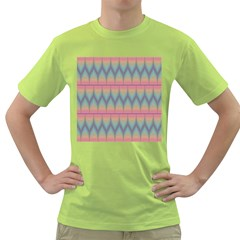 Pattern Background Texture Colorful Green T Shirt