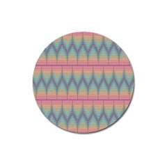 Pattern Background Texture Colorful Magnet 3  (Round)