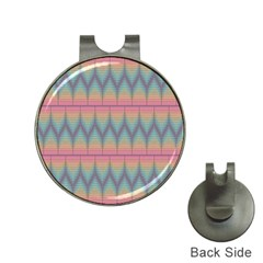Pattern Background Texture Colorful Hat Clips with Golf Markers