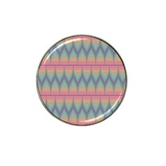 Pattern Background Texture Colorful Hat Clip Ball Marker (4 pack)