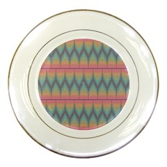 Pattern Background Texture Colorful Porcelain Plates