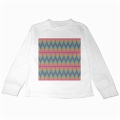 Pattern Background Texture Colorful Kids Long Sleeve T Shirts