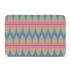 Pattern Background Texture Colorful Plate Mats