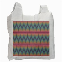 Pattern Background Texture Colorful Recycle Bag (One Side)